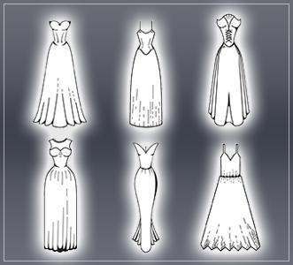 今流行っているドレスってどんなもの?