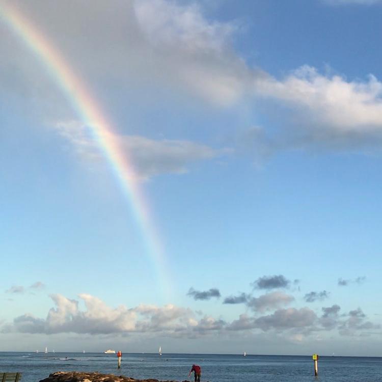 ハワイの雨は「神の恵み」を意味する