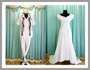 ウエディングドレス アロハスタイル