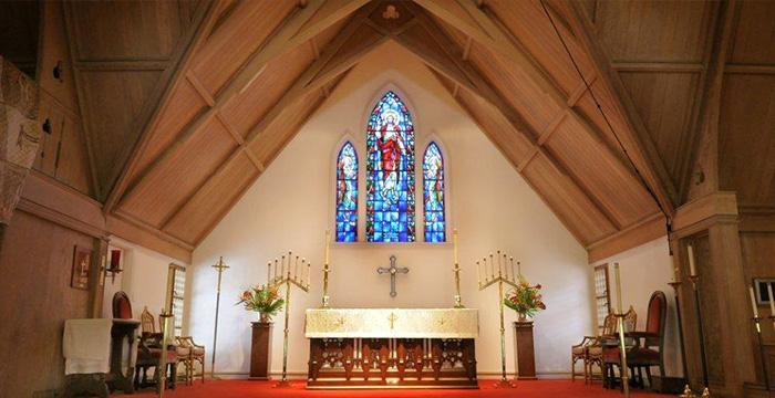 セントクレメンツ教会の祭壇