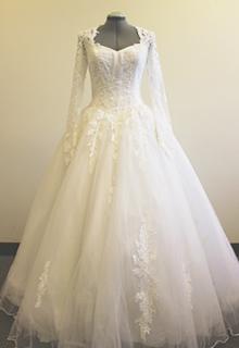 プリンセスラインドレス