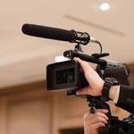カメラマンによる動画撮影