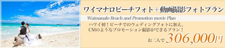 ワイマナロビーチフォト+動画撮影フォトプラン